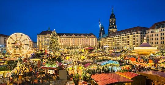 Tour in autobus di Dresda con visita al mercatino di Natale