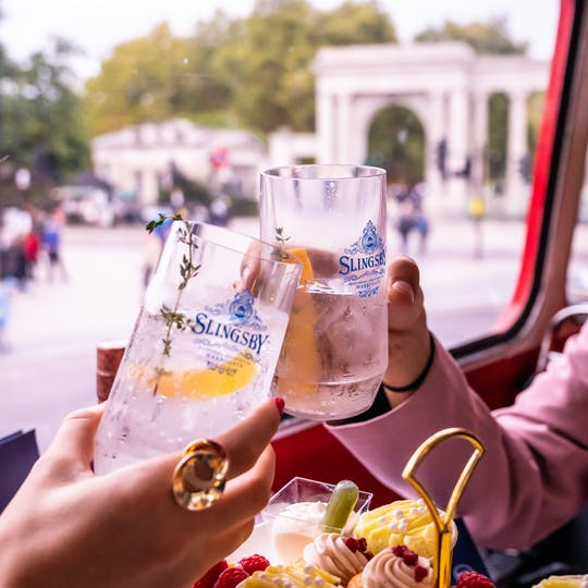 Gin lovers afternoon tea bus tour from Victoria