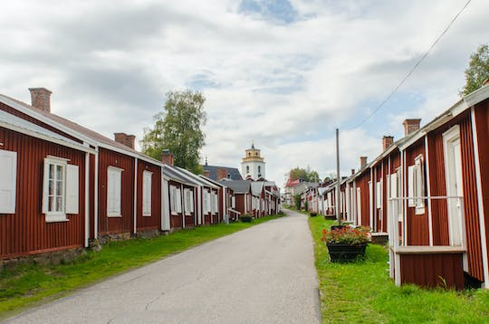 Guided tour of Gammelstad church town