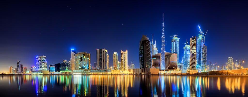 Панорамный тур Дубай ночью
