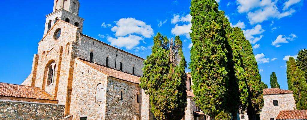 Besichtigung von Grado und Aquileia mit Audioguide und Eingang zur Basilika