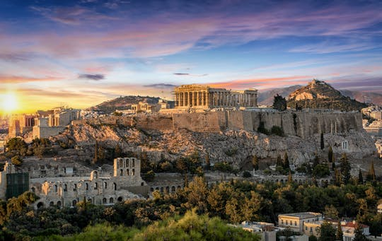 Guided tour of Athens and Acropolis Museum