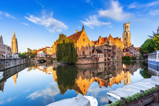 Virtual photo tour of Bruges