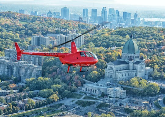 Montreal 20-minute helicopter tour