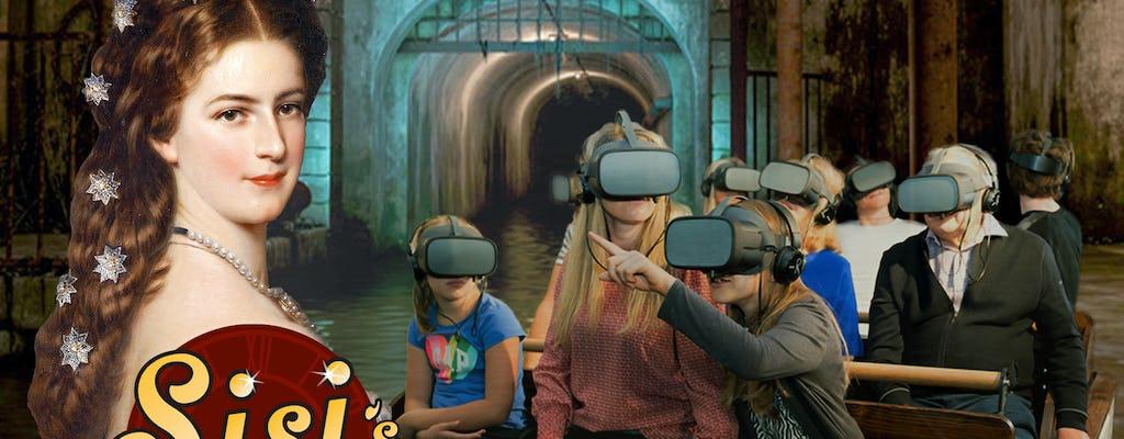 Niesamowita podróż Sisi, przejażdżka łodzią w rzeczywistości wirtualnej