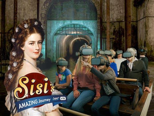 Il fantastico viaggio in barca di realtà virtuale di Sisi
