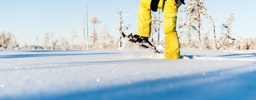 Schneeschuhwandernde Naturtour