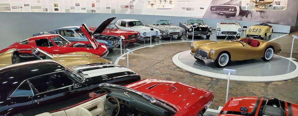 Ticket to the American Speed exhibit