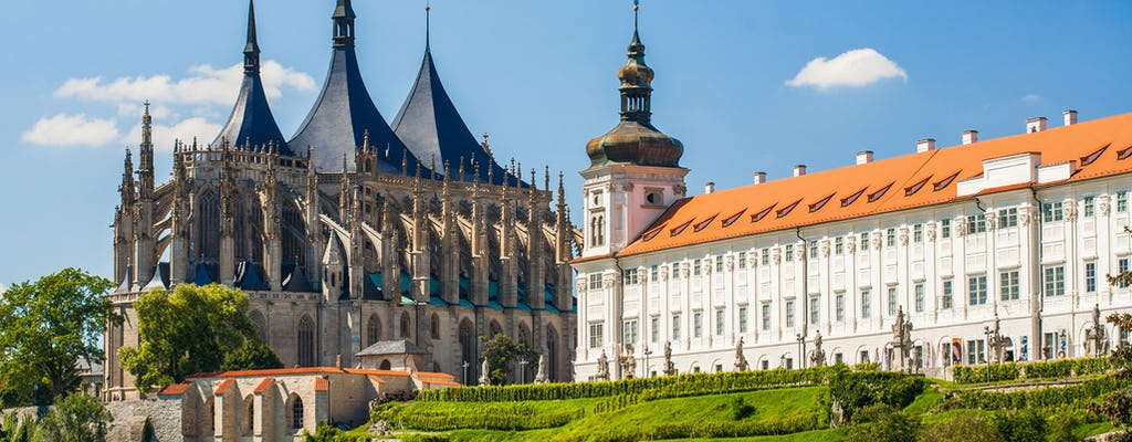 Kutna Hora walking tour and St Barbara Cathedral from Prague