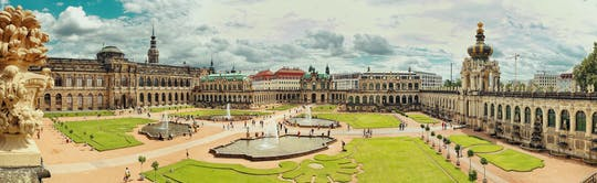 Full-day Dresden trip with tour of Zwinger from Prague