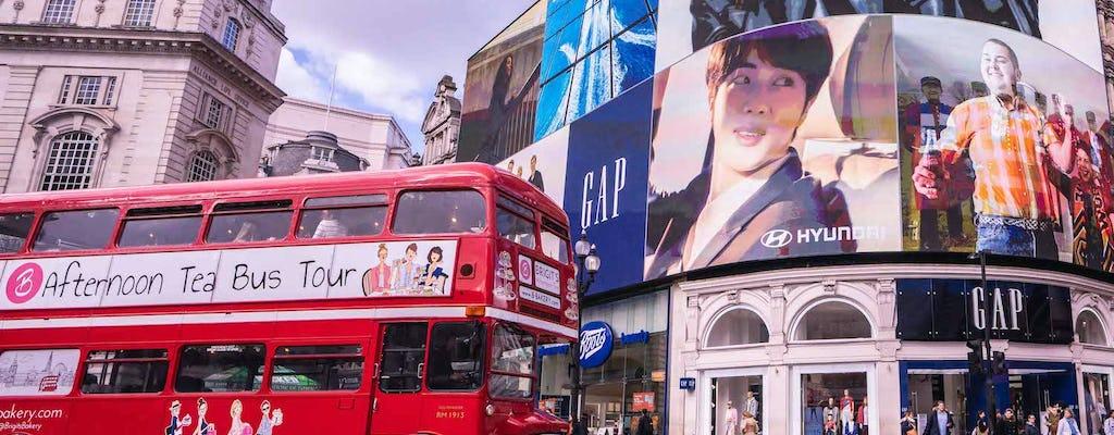 Tour de ônibus do chá da tarde em Londres