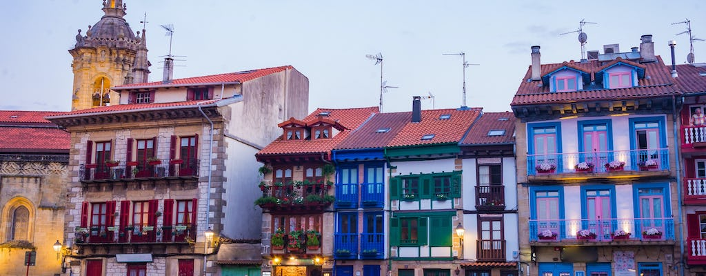 Hondarribia and gastronomic society day tour