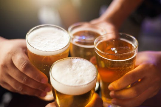 Degustación de cerveza checa en Praga