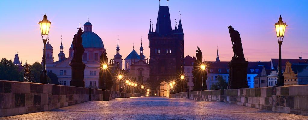 Visite à pied sur les fantômes de Prague