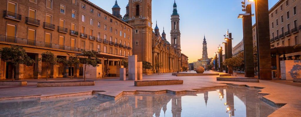 Wieczorna wycieczka piesza z tapas w Saragossie