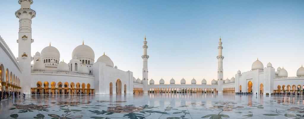 Visita a la Gran Mezquita de Abu Dabi y Ferrari World desde Abu Dabi