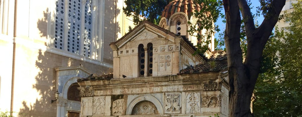 Zelfgeleide ontdekkingswandeling in de oude stad van Athene en de nationale tuinen