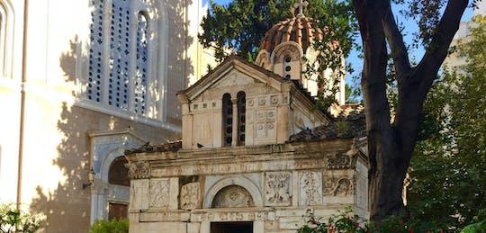 Caminhada autoguiada de descoberta na cidade velha de Atenas e nos jardins nacionais