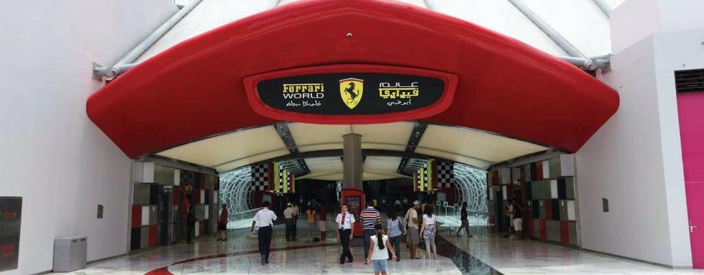 Tour pela Mesquita de Abu Dhabi e pelo Ferrari World com saída de Dubai