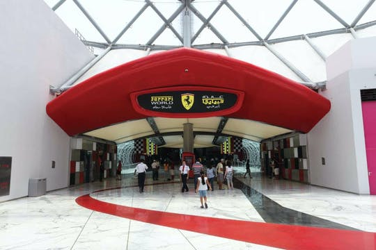 Abu Dhabi Mosque and Ferrari World tour from Dubai