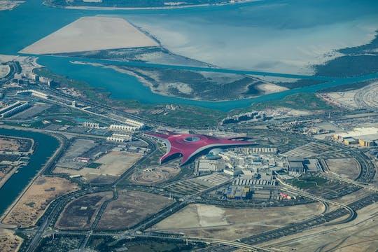 Поездка в Абу-Даби и мир авиабилет Феррари