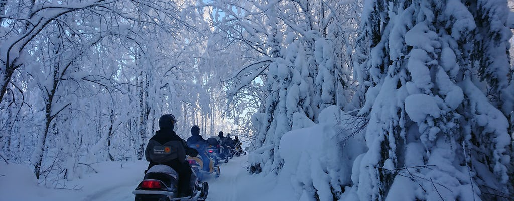 2-godzinne safari na skuterach śnieżnych po Lakeland