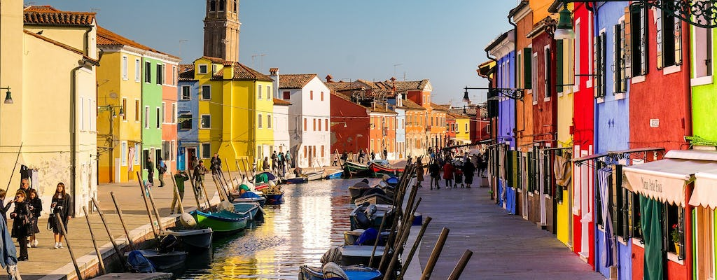 Six-hour lagoon tour in Murano, Burano and Torcello