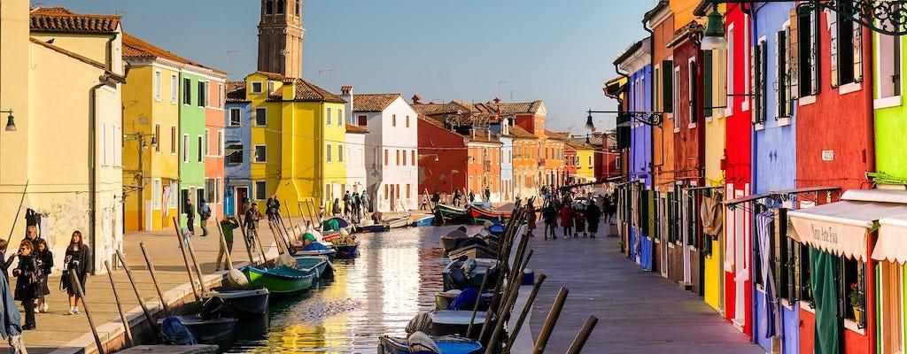 Tour della laguna di sei ore a Murano, Burano e Torcello