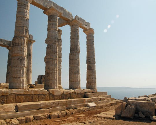 Halbtägige private Tour durch Cape Sounion