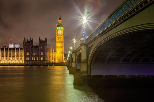 Tour fotográfico noturno privado em Londres
