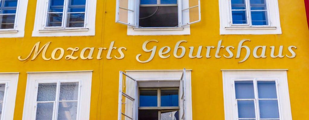 Passeggiata storica attraverso Salisburgo con un locale