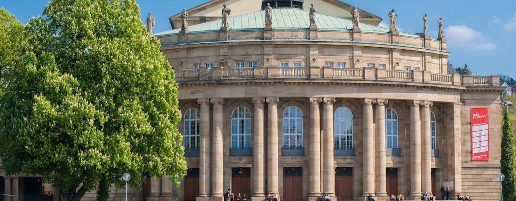Descubra Stuttgart em 60 minutos com um local