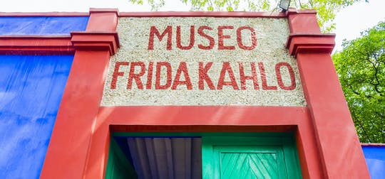 Diego Rivera and Frida Kahlo museums guided tour