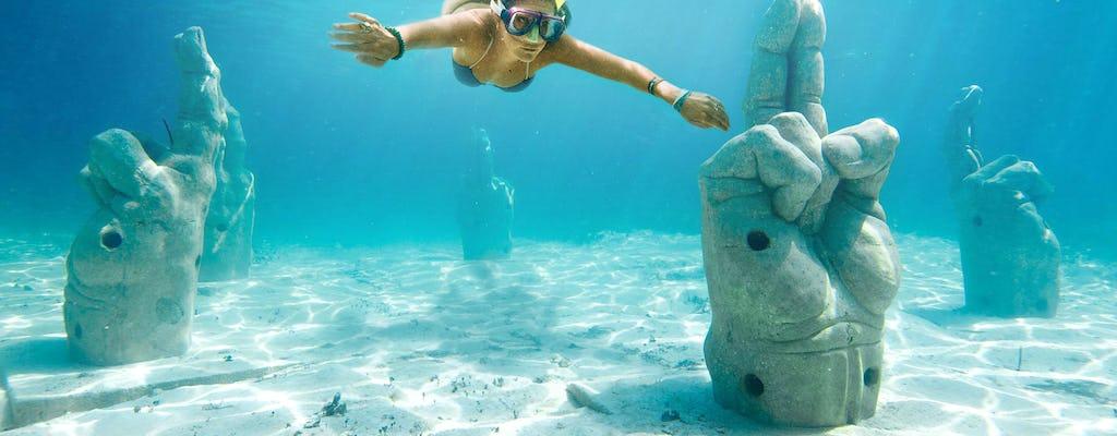 Tour en catamarán a Isla Mujeres desde Cancún