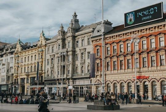 Tour della fotogenica Zagabria con un locale