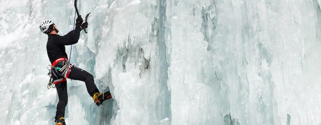 Esperienza di arrampicata su ghiaccio