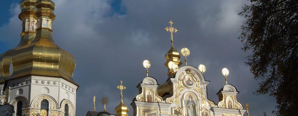 Promenade architecturale de Kiev avec un local
