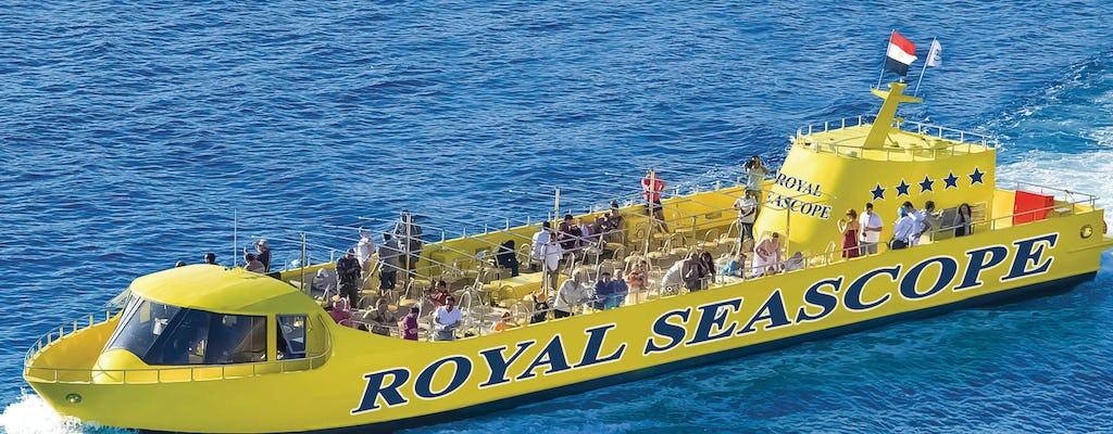 Hurghada - wycieczka łodzią podwodną