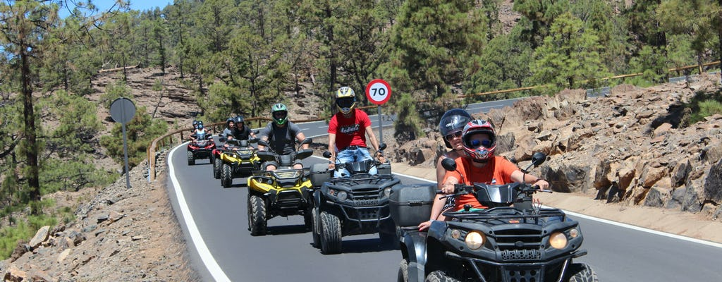 Teide National Park Quad Tour