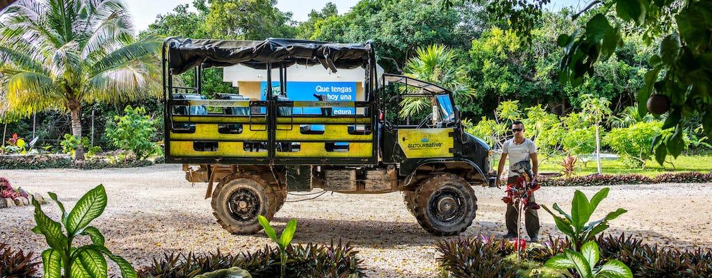 Yucatan Jungle Maya Safari Adventure Tour