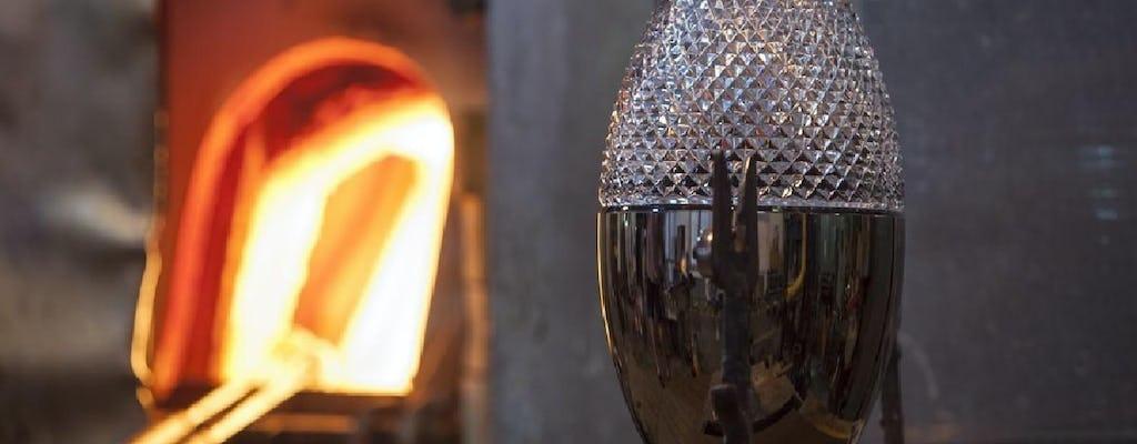 Excursion to Rückl Crystal Glass Factory Nizbor from Prague