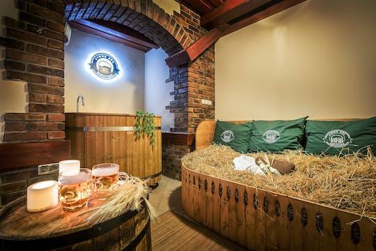 Beer SPA treatment in Zakopane