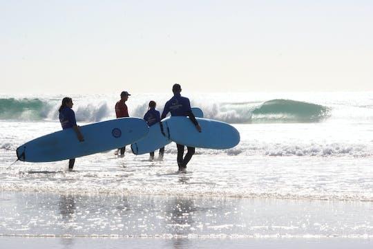 Aventura de surf de dia inteiro