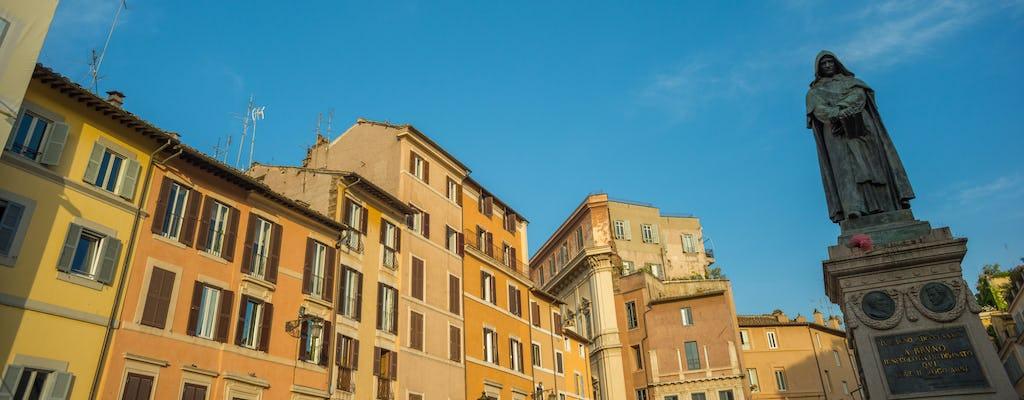 Culinaire tour door Rome in Campo de 'Fiori