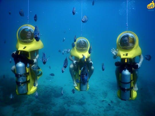 Aquafari underwater scooter tour