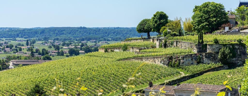 Popołudniowa wycieczka po winnicach do Saint-Emilion