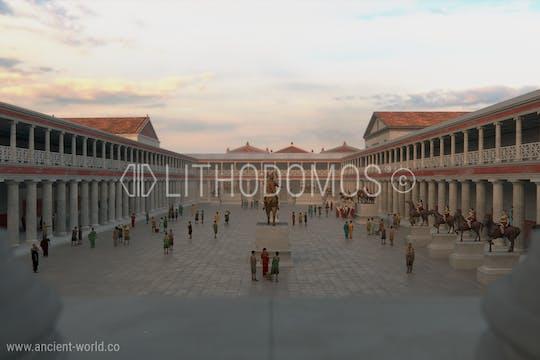 Tour virtual 360 ° da Antiga Pompéia