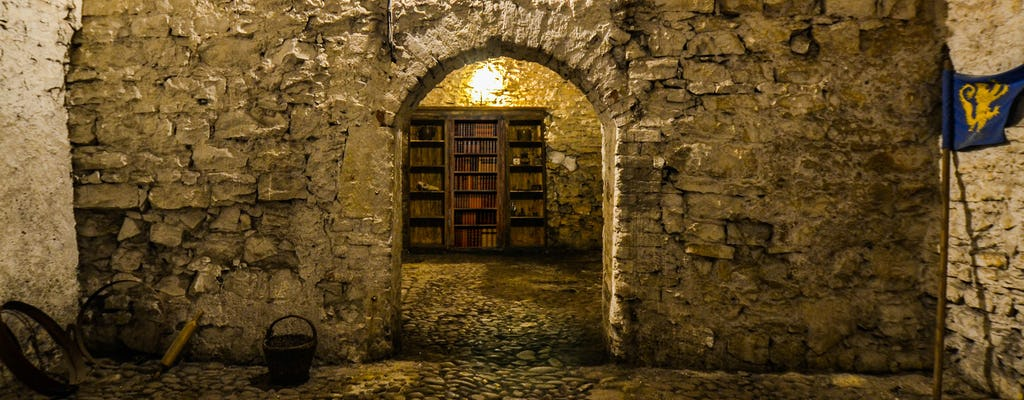 Visite de la vieille ville, des souterrains médiévaux et du donjon de Prague