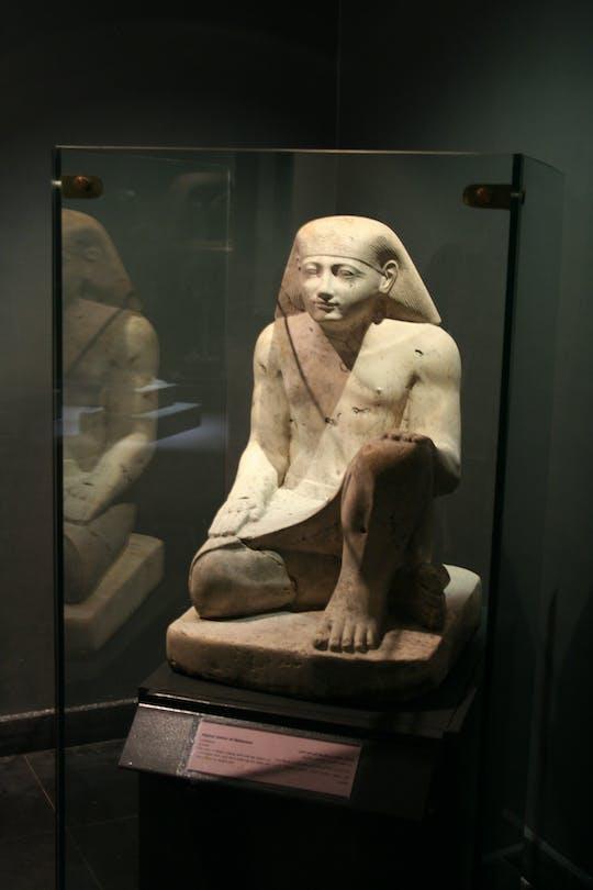Ticket voor het Nationaal Museum met egyptoloog
