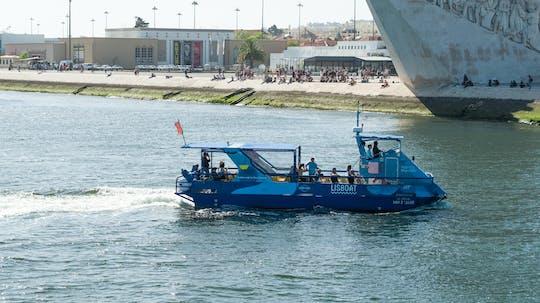 Lisbon hop-on hop-off Belém and Castle lines with boat tour